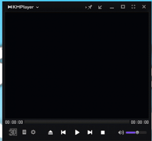 How to change the Skin of KMPlayer to the default skin