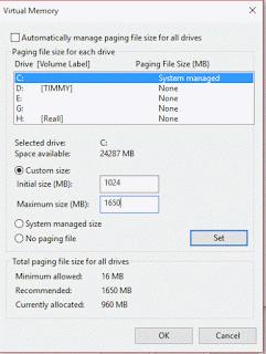Virtual Memory Changed