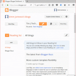 How to backup and import your content on blogger