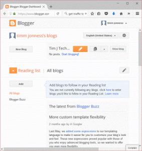 How to install or upload a template in Blogger.