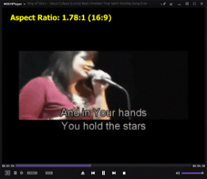 KMPlayer – Change Aspect Ratio