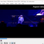 VLC Media Player - Change Aspect Ratio