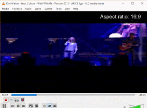 VLC Media Player – Change Aspect Ratio