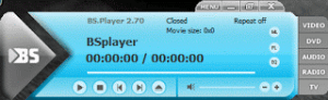BSPlayer Keyboard Shortcut or Hotkeys