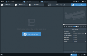 Convert Audio and Video Files Using Any Video Converter