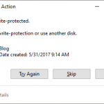 How to remove write protection from an External or USB storage Device