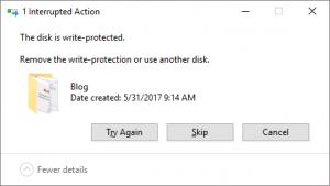 Write Protection