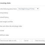 Clear Cookies, History, Cache and Browsing Data in UC Browser
