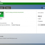 Turn on or off Windows Defender Real-time protection