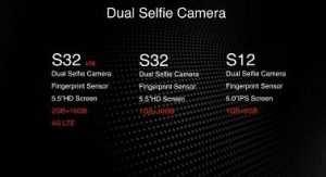 iTel S12, S32 LTE Specs
