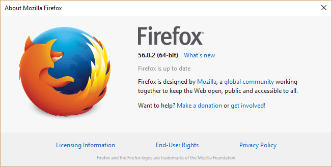 Check if Chrome, Firefox and Opera Browser are Updated