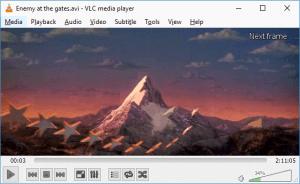 VLC Frame By Frame Navigation