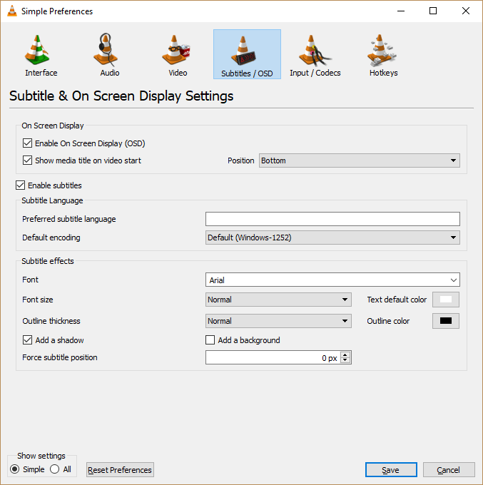 Change Subtitle Font Type, Size, Colour, Position in VLC • About Device