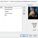 How to add Cover Art or Album art to audio Using Mp3tag