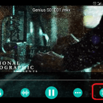 How to change Aspect ratio on the AC3 Player (Android)