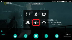 AC3 Player Audio Button