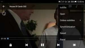 MX Player Subtitle Settings