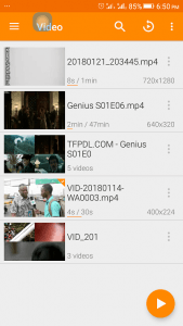 VLC Media Player - Load External Subtitle File (Android) • About Device