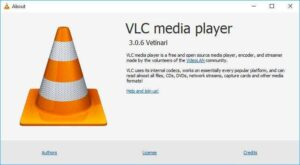 VLC About