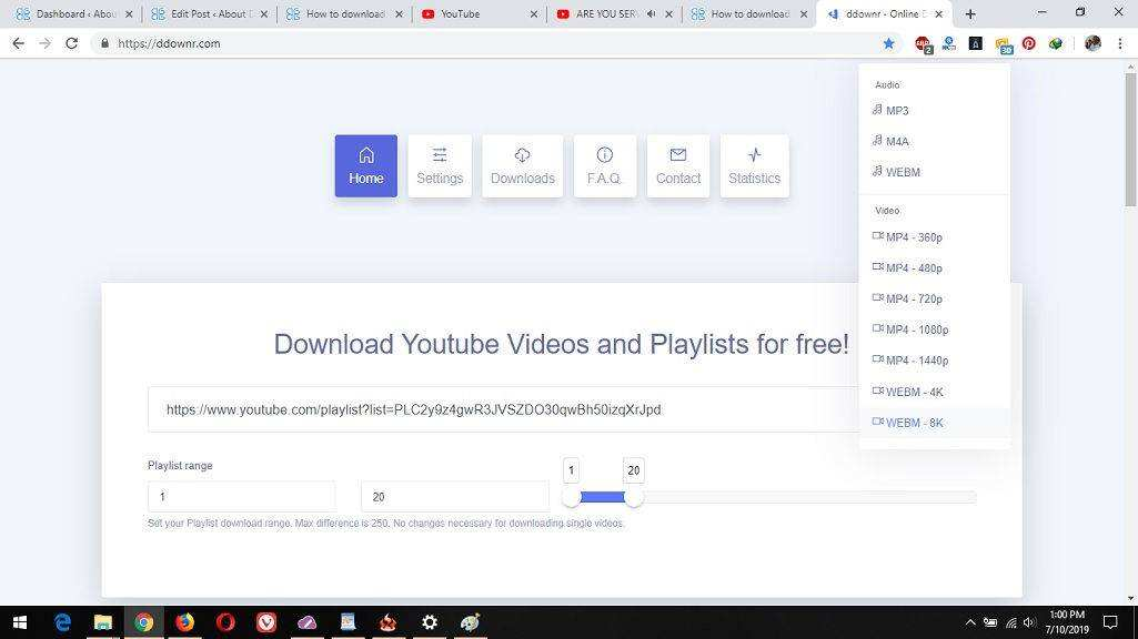 How to download a YouTube Playlist as MP3 • About Device