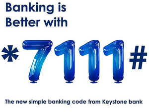 Keystone Bank USSD