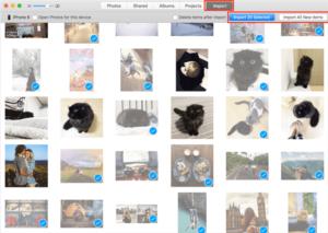 Transfer Photos via USB Cable