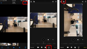 How to Rotate Videos on iPhone using the Photos App