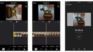 How to Rotate Videos on iPhone using the iMovie App