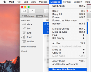 How to Remove Attachments from Mail
