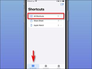 Select All Shortcut