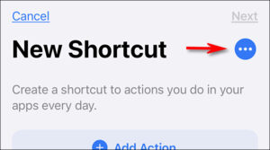 Tap the ellipses button (three dots)
