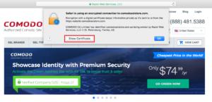 Click Show Certificates