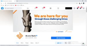 Access bank facebook