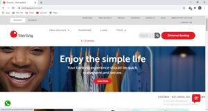 Sterling Bank Website