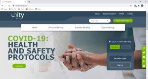 Unity Bank Website