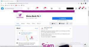 Wema Bank Facebook