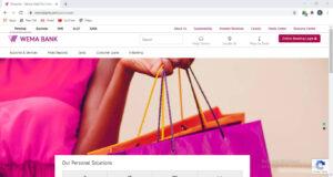Wema Bank Website