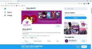 Wema bank Twitter