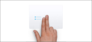 Use the Trackpad Gesture