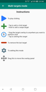 Tap Enable under Multi Targets mode