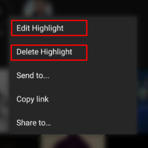 Select Delete Highlight
