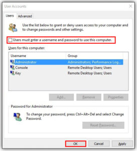 How to Enable Auto Login in Windows