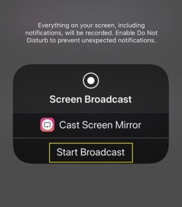 How to Mirror an iPhone via a Chromecast