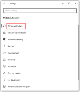 How to Enable Auto Update in Windows 10