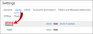 How to Access Spam Folder in Gmail