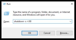 How to Enable Auto Shutdown in Windows 10