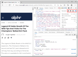 How to Use Inspect Element on Web Browsers