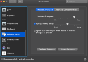 Adjust Double-Clicking Settings; Source: alphr.com