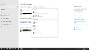 Select Gmail; Source: alphr.com