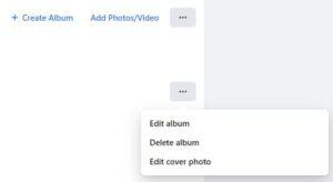 Select Delete Album; Source: alphr.com